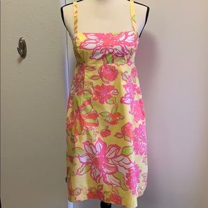 Lilly Pulitzer cotton sundress in Starfruit size 4